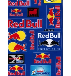KIT AUTOCOLANTES UNIVERSAL RED BULL