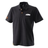 POLO KTM RACING 3PW200028904 PRETO L